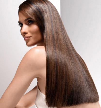 В моде длинные волосы