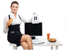 Как не набрать вес, работая в офисе?