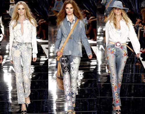 Модные джинсы осень-зима 2012-2013