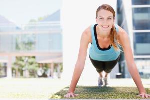 Зеленый цвет усиливает эффект от фитнеса