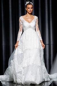 Свадебные платья для худеньких невест
