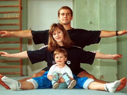 Заниматься спортом нужно всей семьей