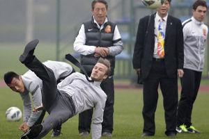 Дэвид Бекхэм растерял все навыки блистательного футболиста