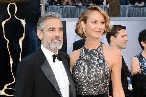 Джордж Клуни и Стейси Кейблер расстались по телефону