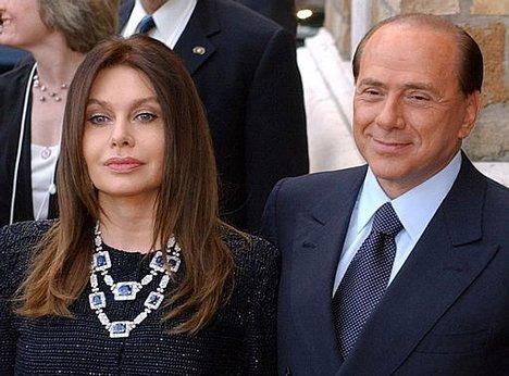 Сильвио Берлускони женился в 77 на молодой невесте