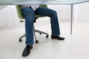 Сидячая работа укрепляет организм