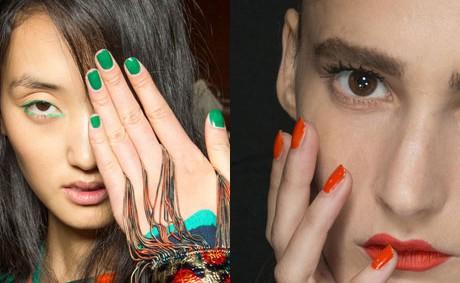 Красить ногти ярко теперь не модно