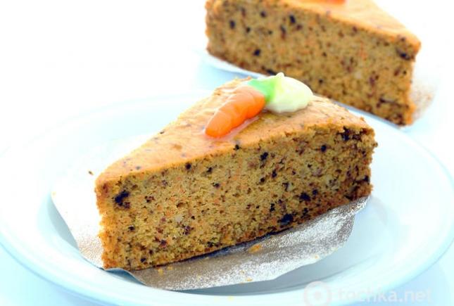 Морковный пирог: рецепт с пряностями и сухофруктами