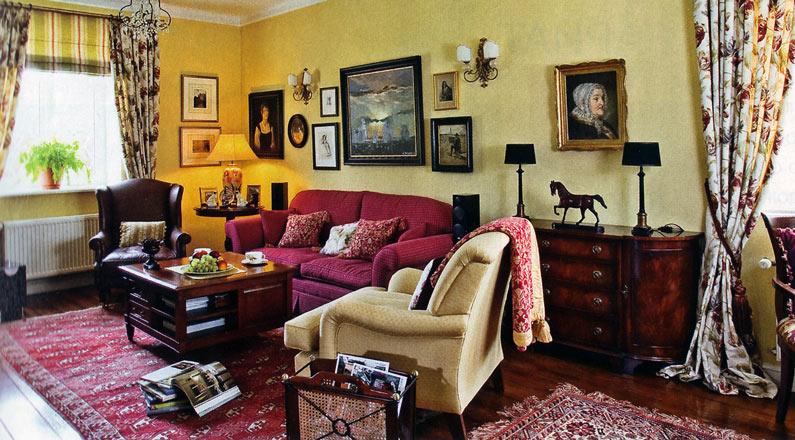 Элементы английского стиля в интерьере дома