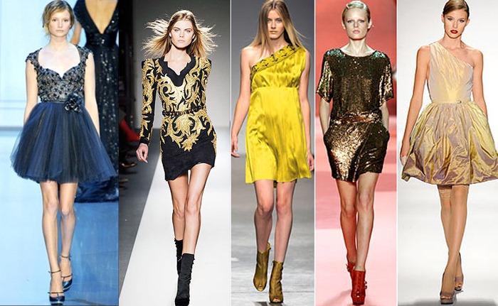 Стильные платья для Нового Года