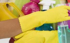 Чистящие средства и ваша кожа