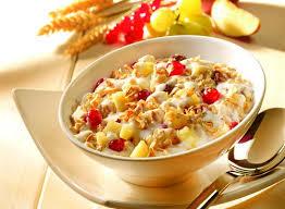Сухие завтраки не подходят для диеты