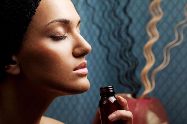 Применение парфюмированных масел