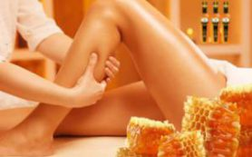 Медовый массаж от целлюлита дома