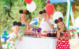 Проведение детского праздника на улице