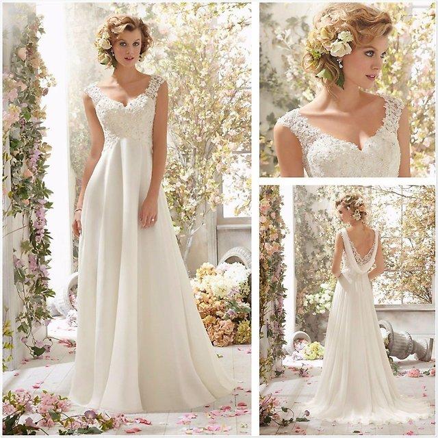 Свадебные платья в греческом стиле как олицетворение античной женственности