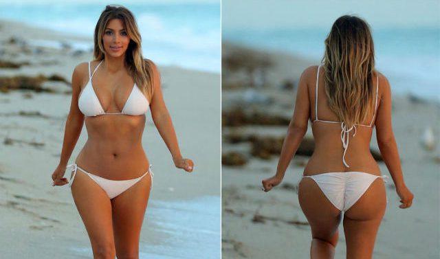 Ким Кардашьян снова начала худеть