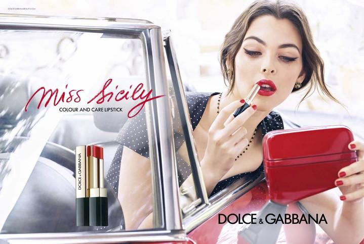 Dolce&Gabbana выпустил серию летних губных помад Miss Sicily