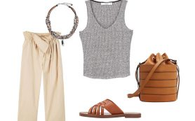 Как носить вещи в стиле сафари?