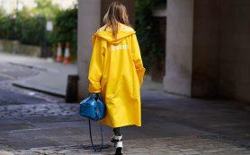 Как выглядеть стильно в дождь