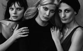 Очень ярко: сильные женщины и знаковые украшения в объективе Питера Линдберга