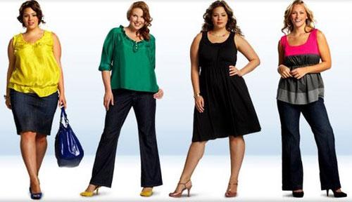 Модные советы для полных женщин