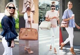Как носить белые джинсы в этом сезоне