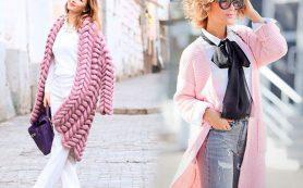 Вязаные кардиганы – стильная и теплая одежда для женщин