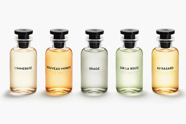Louis Vuitton впервые создали ароматы для мужчин
