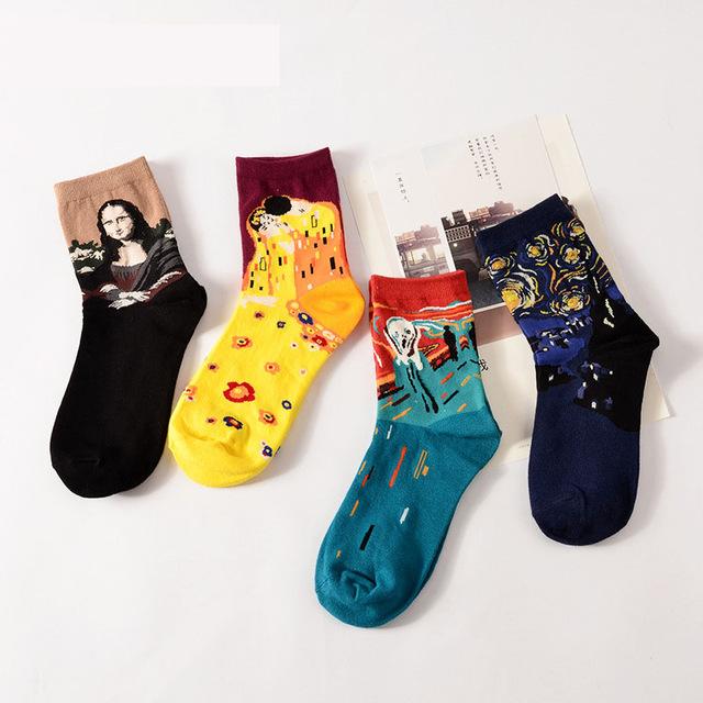 Модные носки в 2018