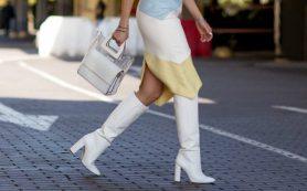 Вопрос стилисту: как носить белые сапоги?