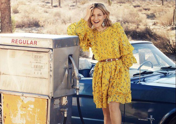 Кейт Хадсон запускает экологичную линию одежды