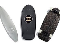 Chanel выпустили скейтборд