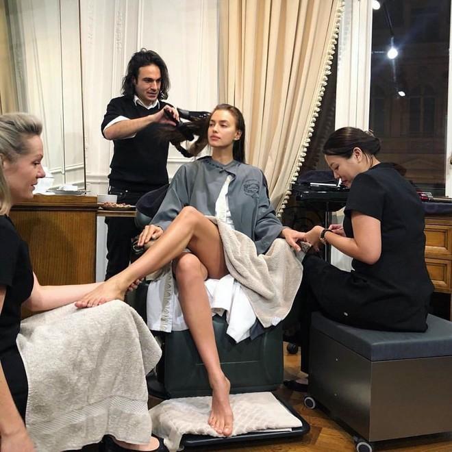 Где делают маникюр и педикюр Ирина Шейк и Наталья Водянова?