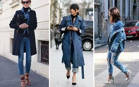 Носите джинсовые комплекты