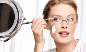 Особенности макияжа при плохом зрении