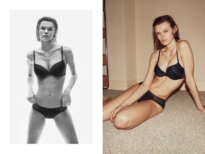 Белла Хадид, Наоми Кэмпбелл и другие звезды снялись в рекламной кампании Calvin Klein