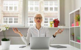 Как поддерживать себя в форме не выходя из офиса