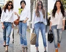 С чем носить женские рубашки