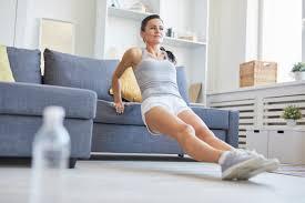 Необычные приспособления для фитнеса: диван