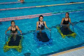 Новинки аквафитнеса: подводные тренажеры