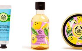 С огурцом и лимоном: освежающая коллекция средств для тела The Body Shop