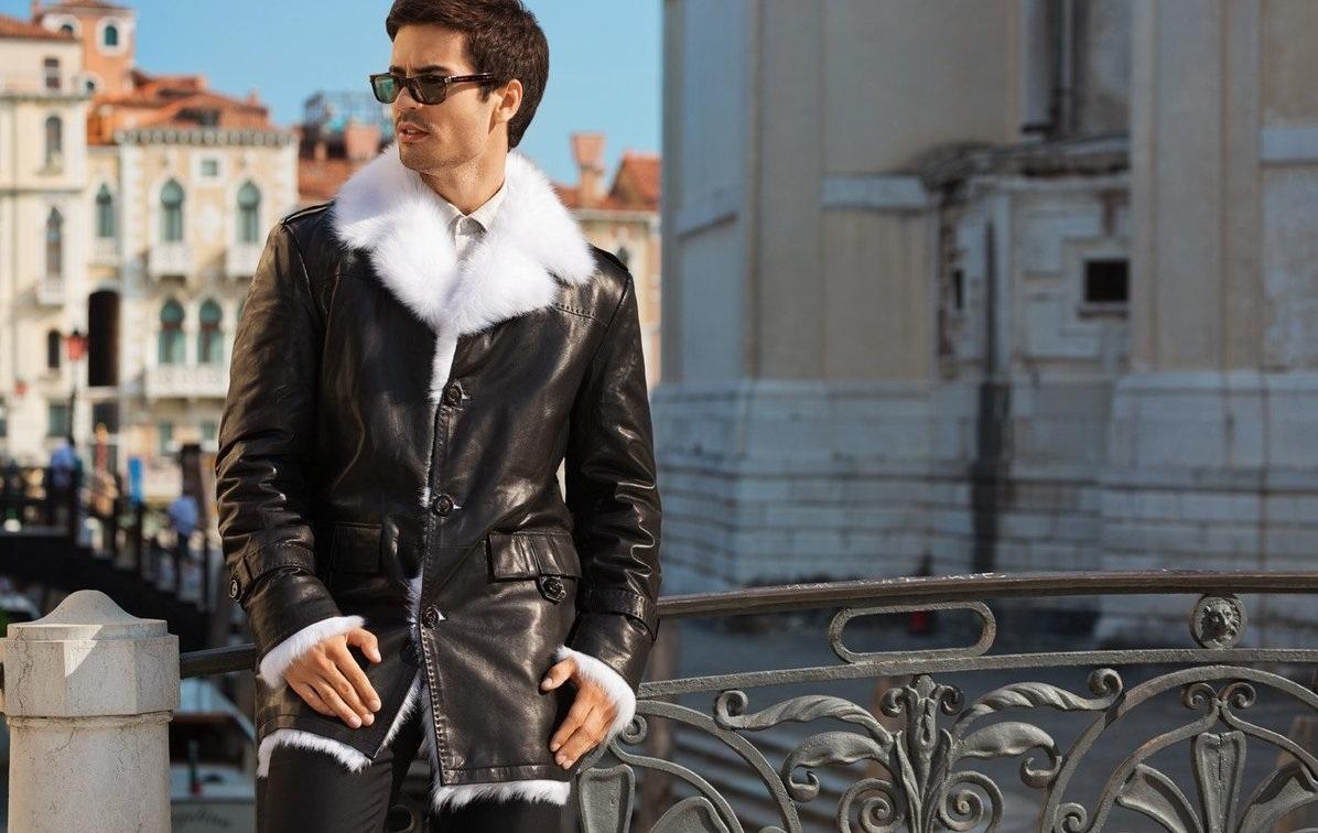 Кожаные куртки для холодной зимы