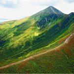 Самая высокая точка на Украине - гора Говерла