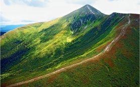 Самая высокая точка на Украине — гора Говерла