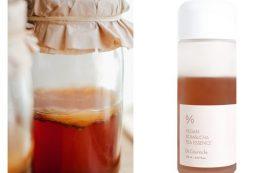 Эссенция для лица с чаем комбуча для детокса кожи
