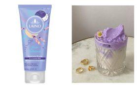 Органический шампунь для лица, тела и волос с запахом лаванды и ежевики